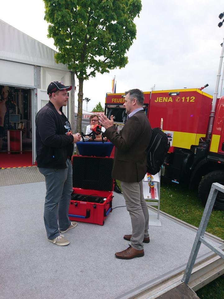 Besuch der RETTmobile in Fulda