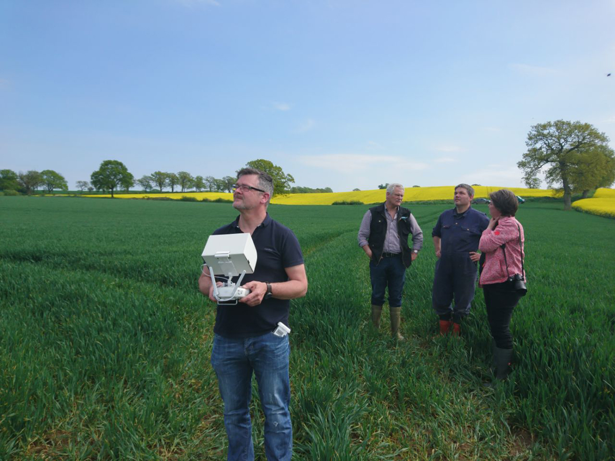 Projektversuch mit der Landwirtschaftskammer Schleswig-Holstein