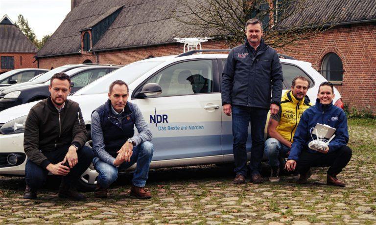 Der NDR (Nordmagazin) zu Besuch bei unserer Drohnenschulung