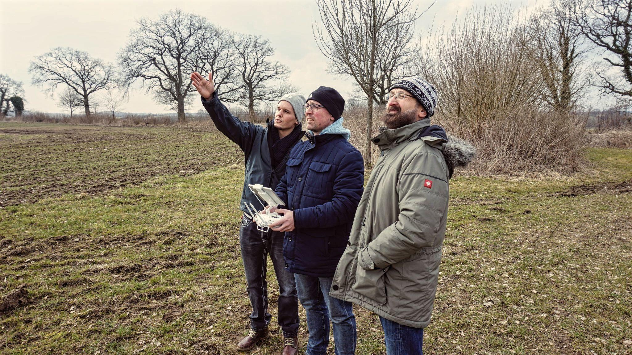 2 Tage UAS-Schulung von Mitarbeitern aus dem Bereich der Denkmalpflege und Archäologie der Hansestadt Lübeck