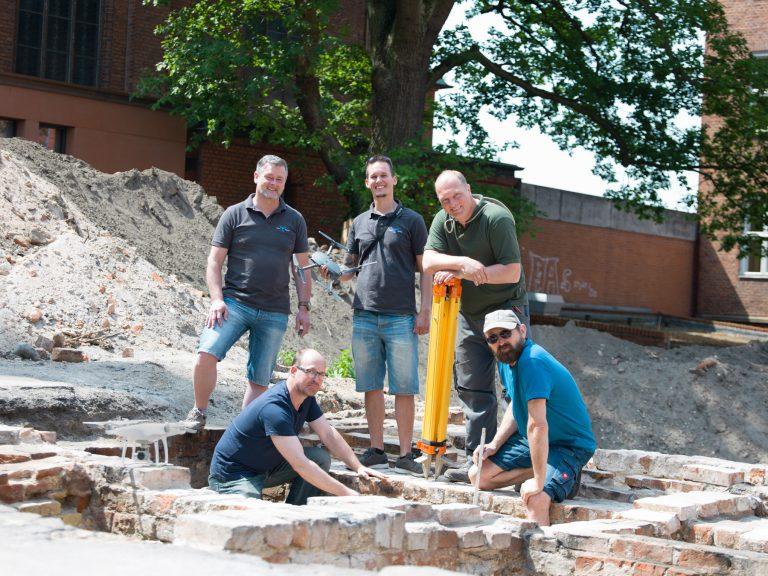 Erster erfolgreicher Einsatz einer Drohne im Bereich Denkmalpflege der Hansestadt Lübeck