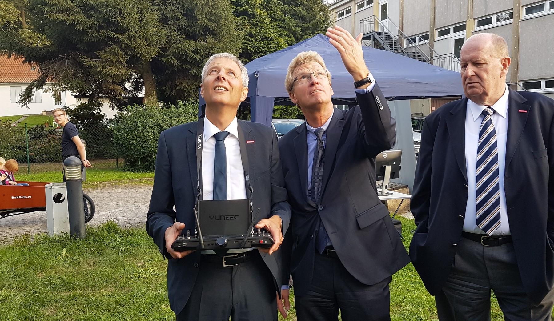 """Drone Safety auf der Veranstaltung """"Nacht der Innovationen"""" der Handwerkskammer Lübeck"""