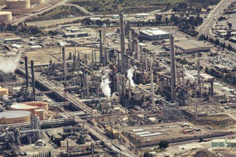 Industrieanlagen : Raffinerien Drohnen