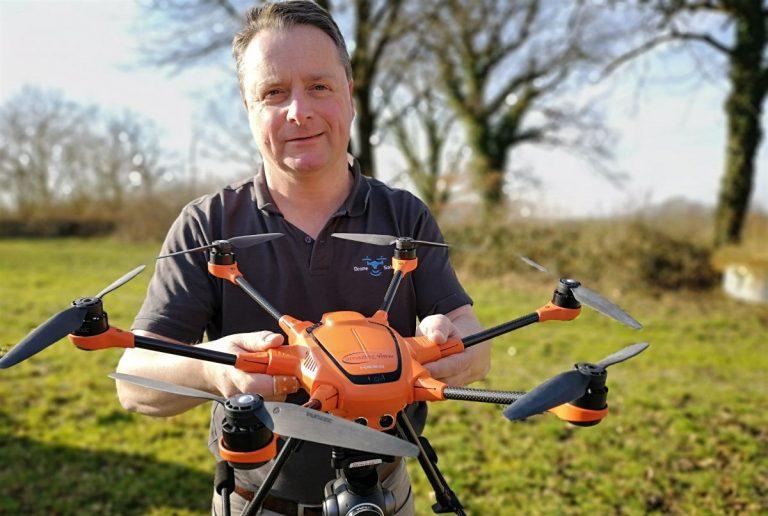 Spezieller Webshop für Drohnenanwender online