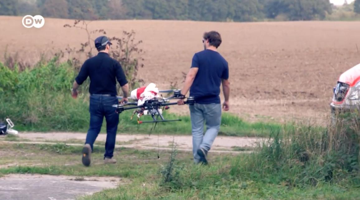 Projekt: Autonom fliegen und Videos aufnehmen