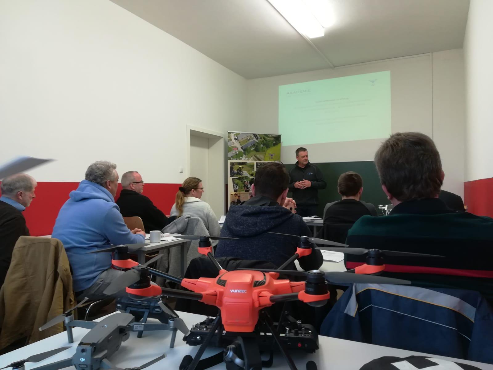 Drohnen-Schulungen bei DEULA in Rendsburg