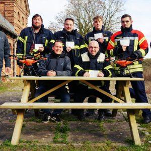 Drohnenschulung (UAS) für Feuerwehren und Rettungskräfte
