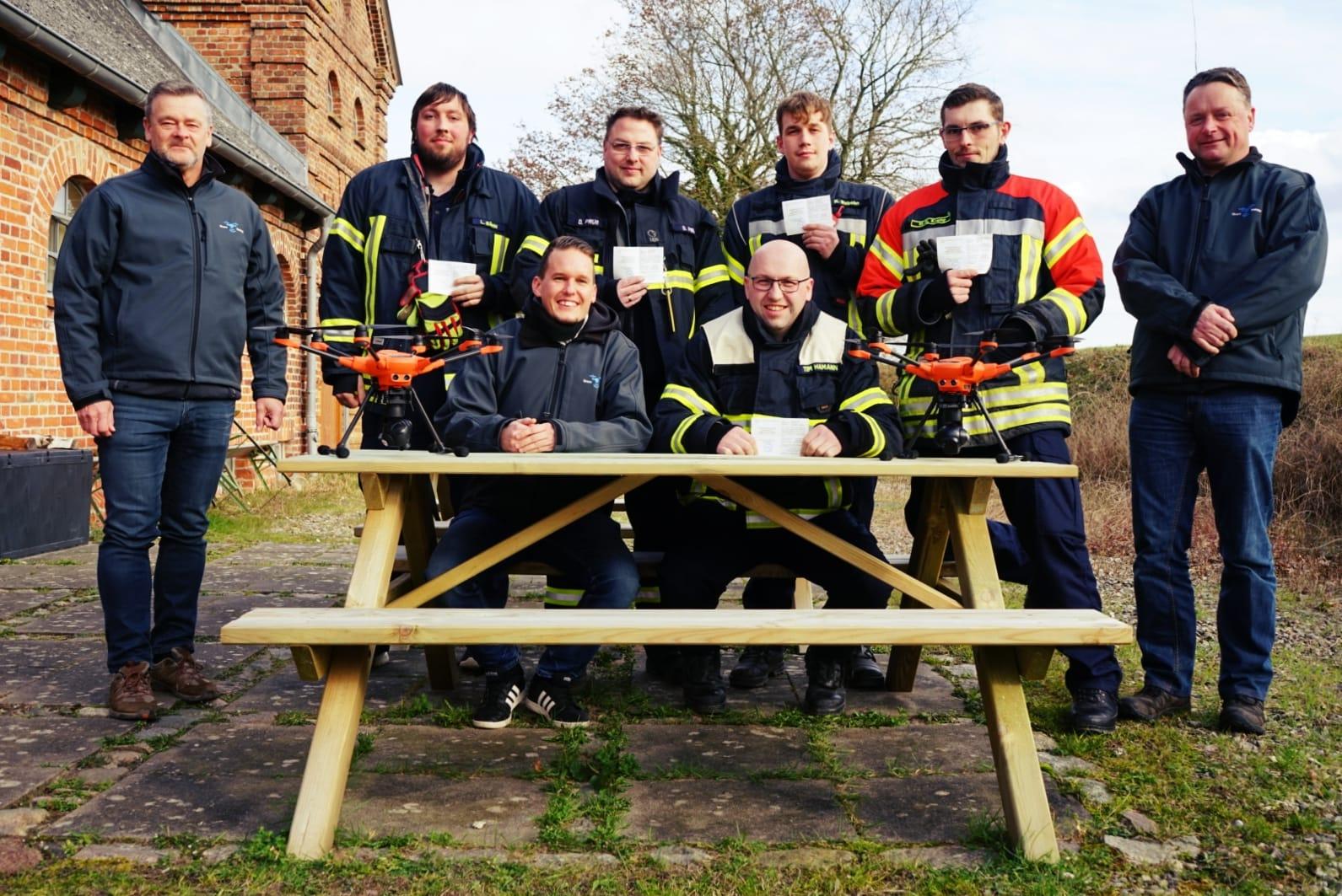 Drohnenschulung für die Feuerwehr Amt Ostholstein Mitte