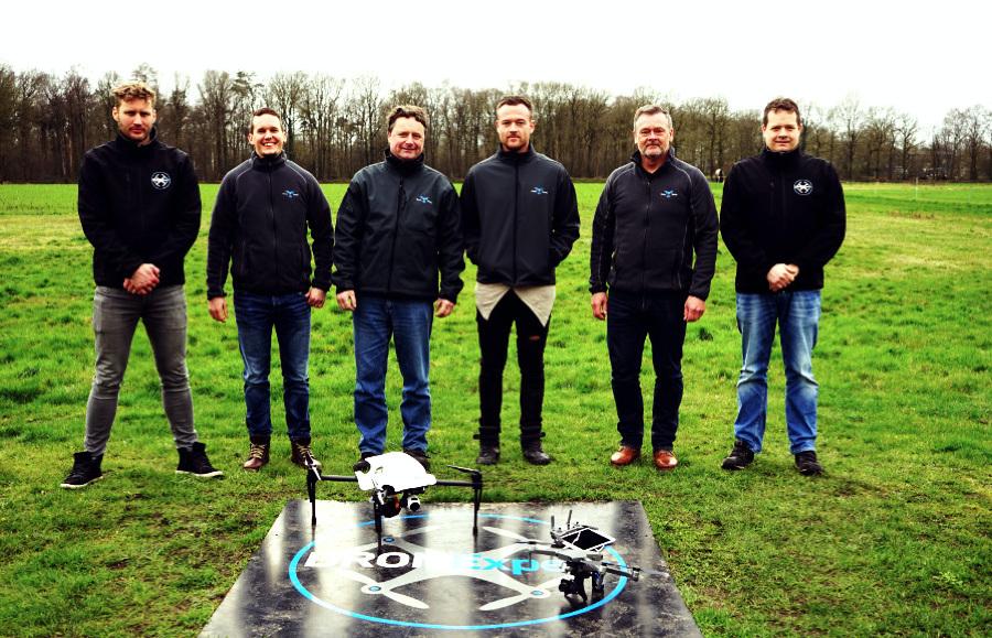 Erneuter Besuch bei unserem Partner DRONExpert NL