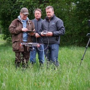 Drohne für Wildtierrettung – Komplettsystem